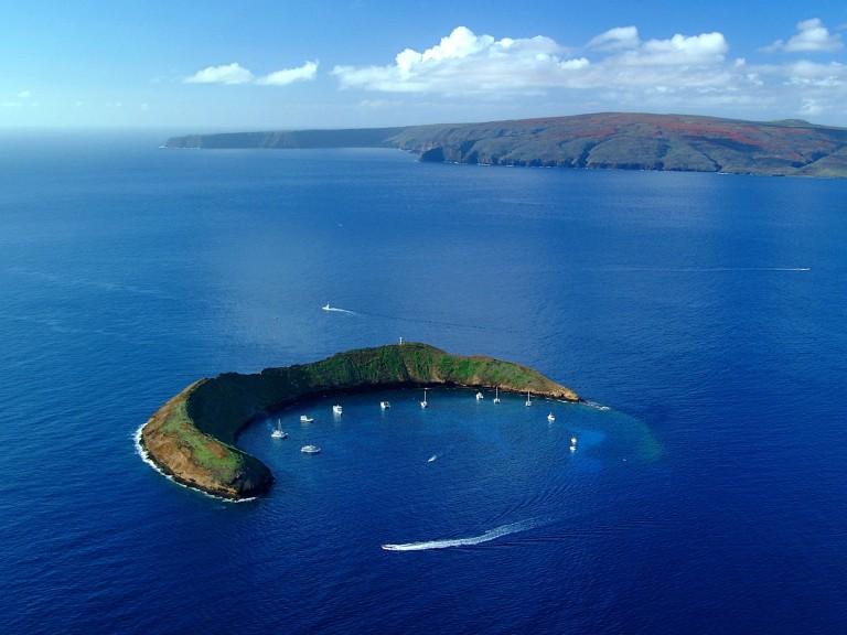 HI 020113-244Molokini Island,  Maui January 13, 2002